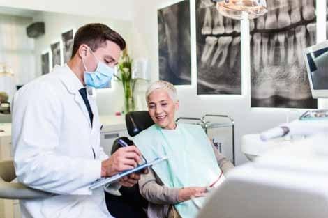 Bone augmentation for atrophic jaw
